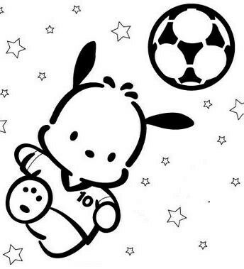 Download Pochacco   Hello kitty colouring pages, Hello kitty coloring, Kitty coloring