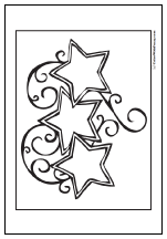 60 Star Coloring Pages Customize And Print Ad Free Pdf Star Coloring Pages Coloring Pages Moon Coloring Pages