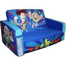 Disney Pixar Toy Story 3d Flip Open Slumber Sofa Sofas Kids