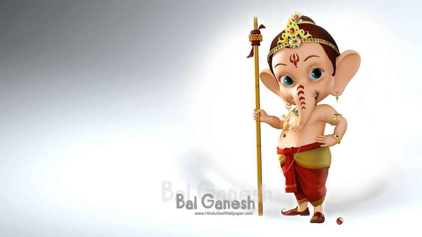 Bal Ganesh Wallpaper Full Size Download Ganesh Wallpaper Cartoon Wallpaper Hd Ganesh Photo