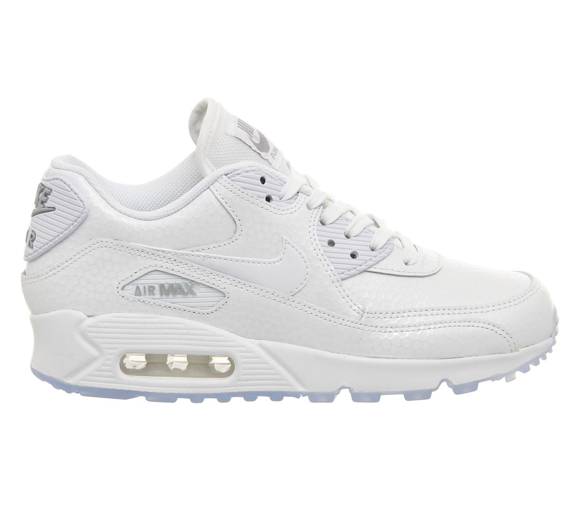 semelle vans - Nike Air Max 90 Pearl Pack (w) White Metallic Silver - Hers ...
