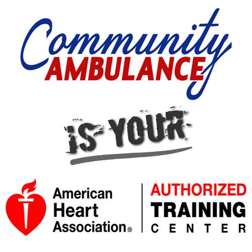 After a long application process, Community Ambulance has officially been named an American Heart Association (AHA) Training Center (TC), making us the only private ambulance service in Georgia, to achieve such status. While Community Ambulance has always maintained a strong working relationship with the AHA, this authorization allows Community Ambulance to have more oversight over training and ultimately, a greater impact in the community.