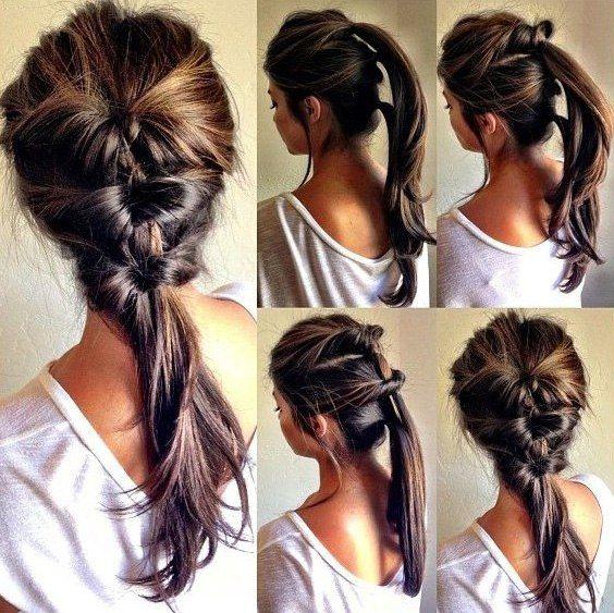Everyday #hairstyle - three ponytail