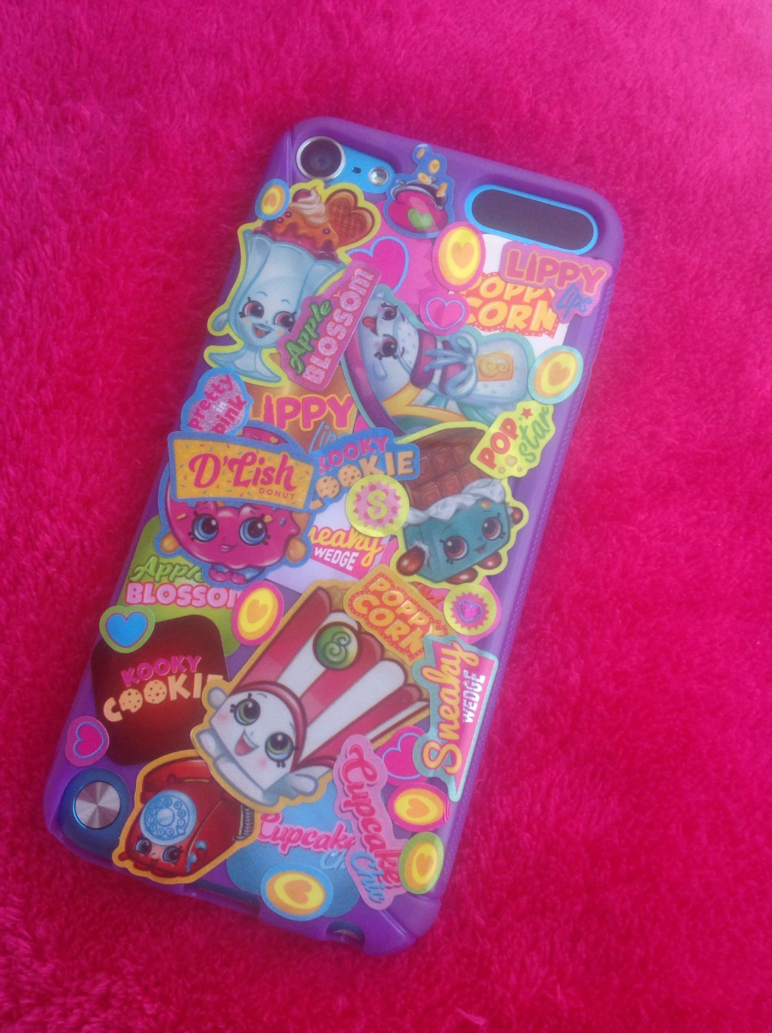 promo code 6057e de347 Shopkins sticker bomb phone case iPod case made by Amelia | iPhone ...
