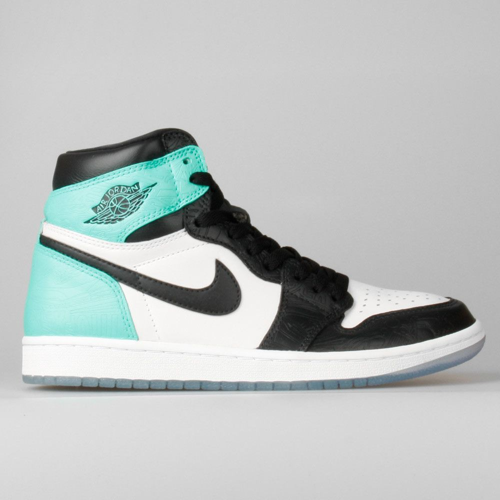 the best attitude 02e6b 1bf69 Nike Air Jordan 1 Retro High OG Tiffany Custom