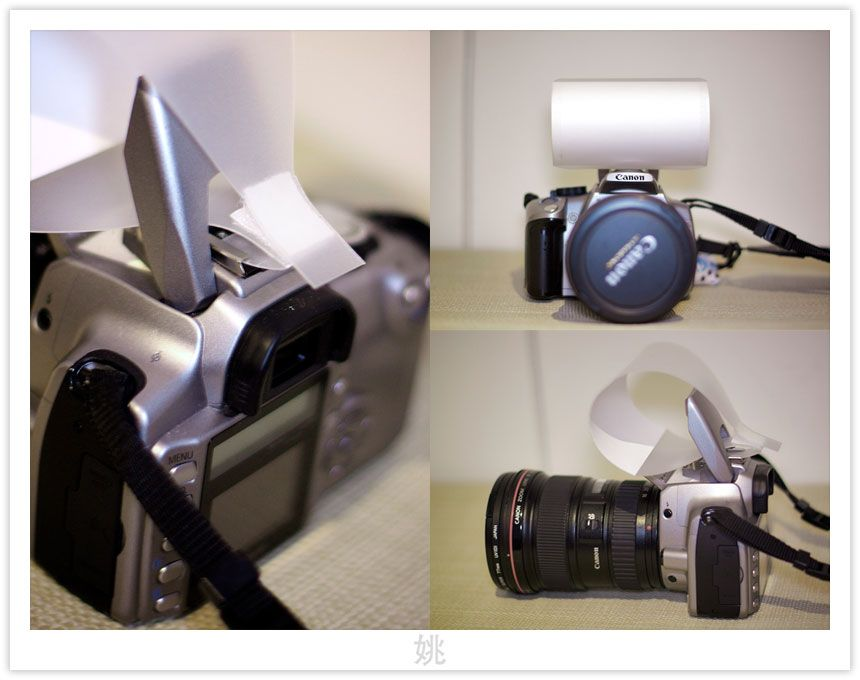 DIY Pop-up Flash Diffuser (com imagens)   Como tirar fotos ...