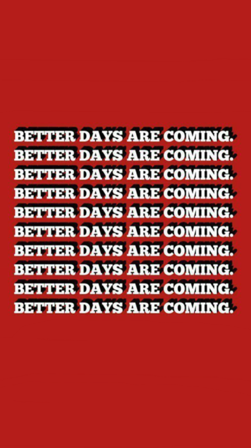 Red Background Aesthetic Quotes