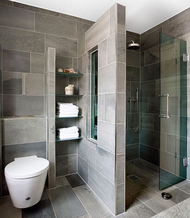 Instagram Photo By أفكار وديكورات ونصائح للبناء Jun 10 2016 At 6 26pm Utc Bathroom Design Small Contemporary Bathroom Designs Small Bathroom Remodel