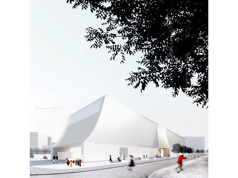 Lahdelma & Mahlamäki Architects + MADE arhitekti — The Latvian Museum of Contemporary Art Design Competition