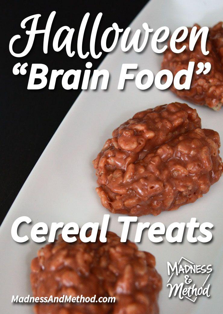 Brain shaped cereal treats recipe brain food brain food forumfinder Images
