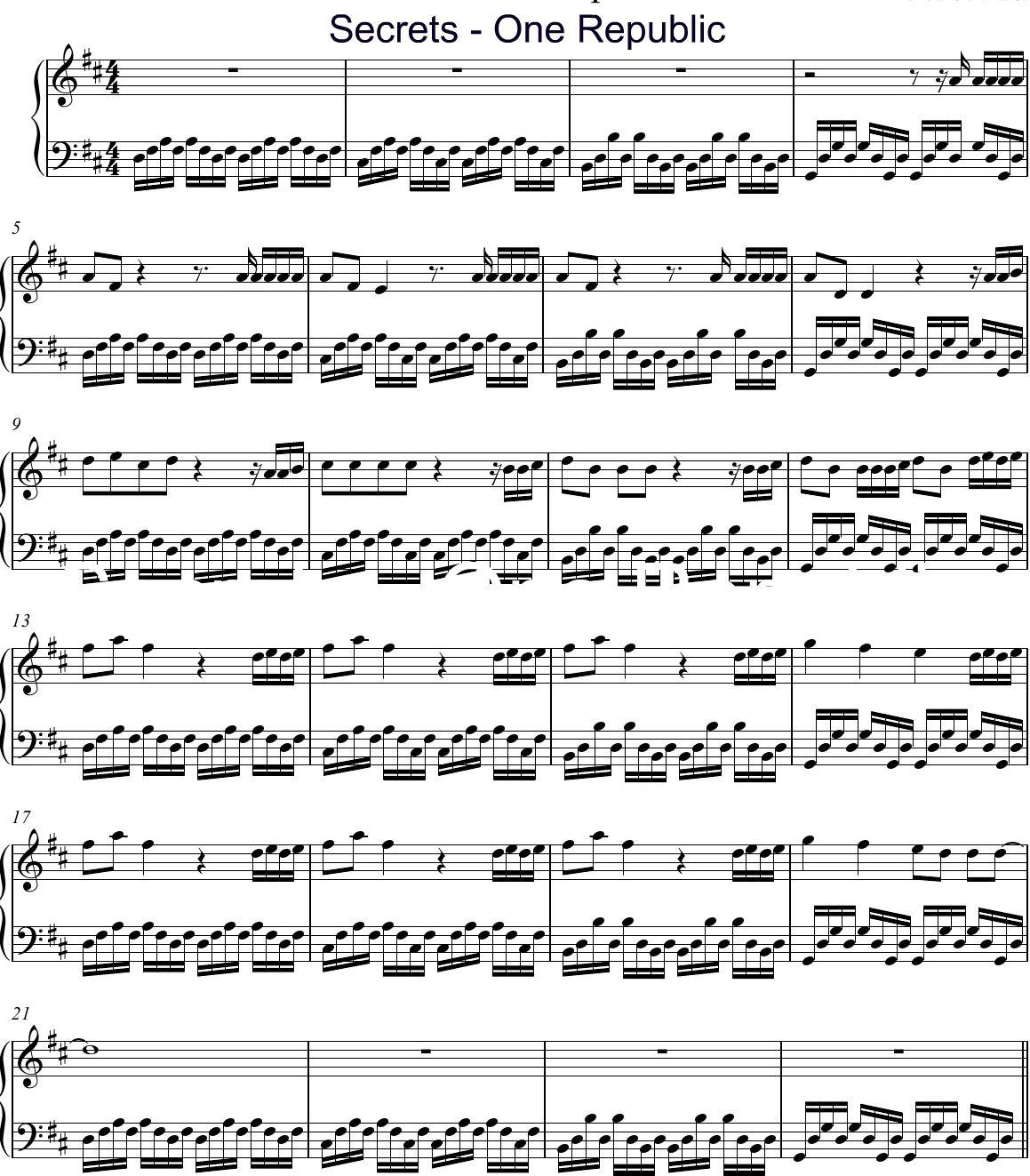 OneRepublic Chords amp Tabs  Page 4  ultimateguitarcom