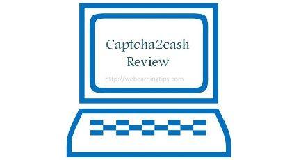 Captcha2cash Review – Online Typing Job Genuine or Scam | Make ...