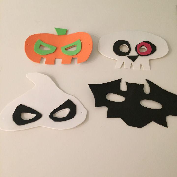 Antifaz Para Ninos Halloween