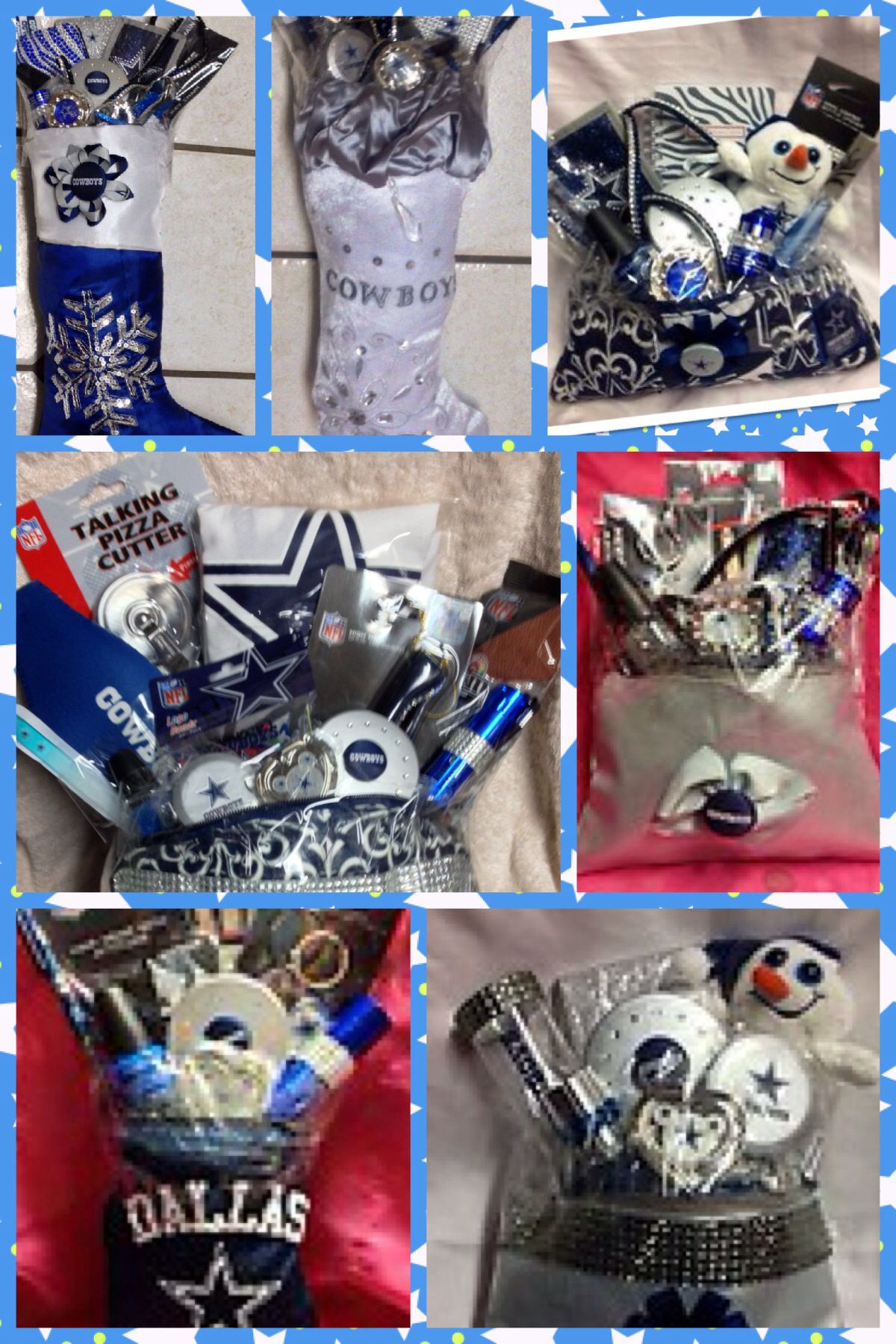 Dallas cowboys | Gift baskets | Pinterest