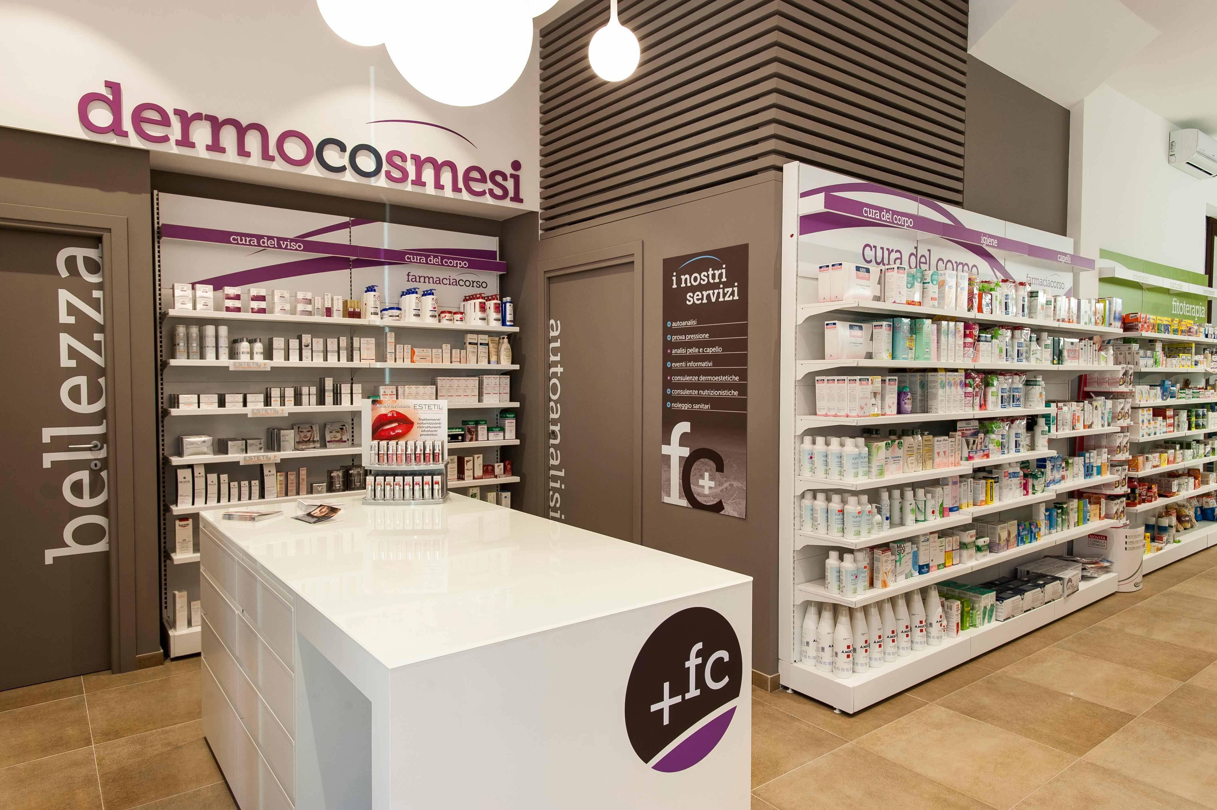 Innovare la farmacia creando uno spazio caldo e ricercato for Corso di arredamento