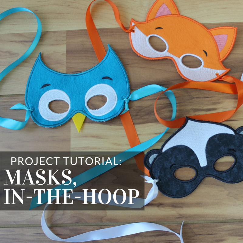 Create An In The Hoop Mask With This Tutorial From Embroidery