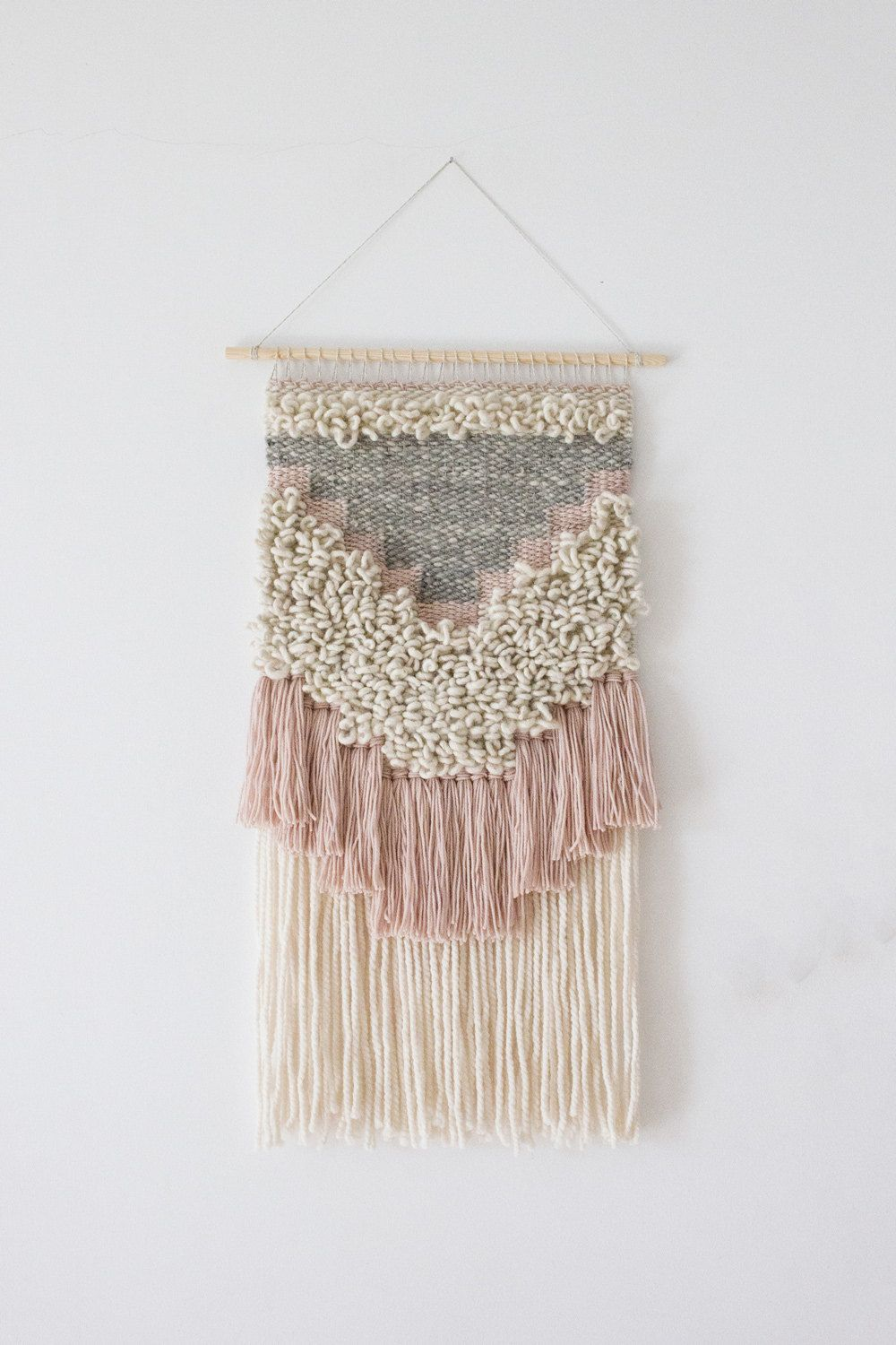 Woven Wall Hanging Woven Wall Weaving Woven Tapestry