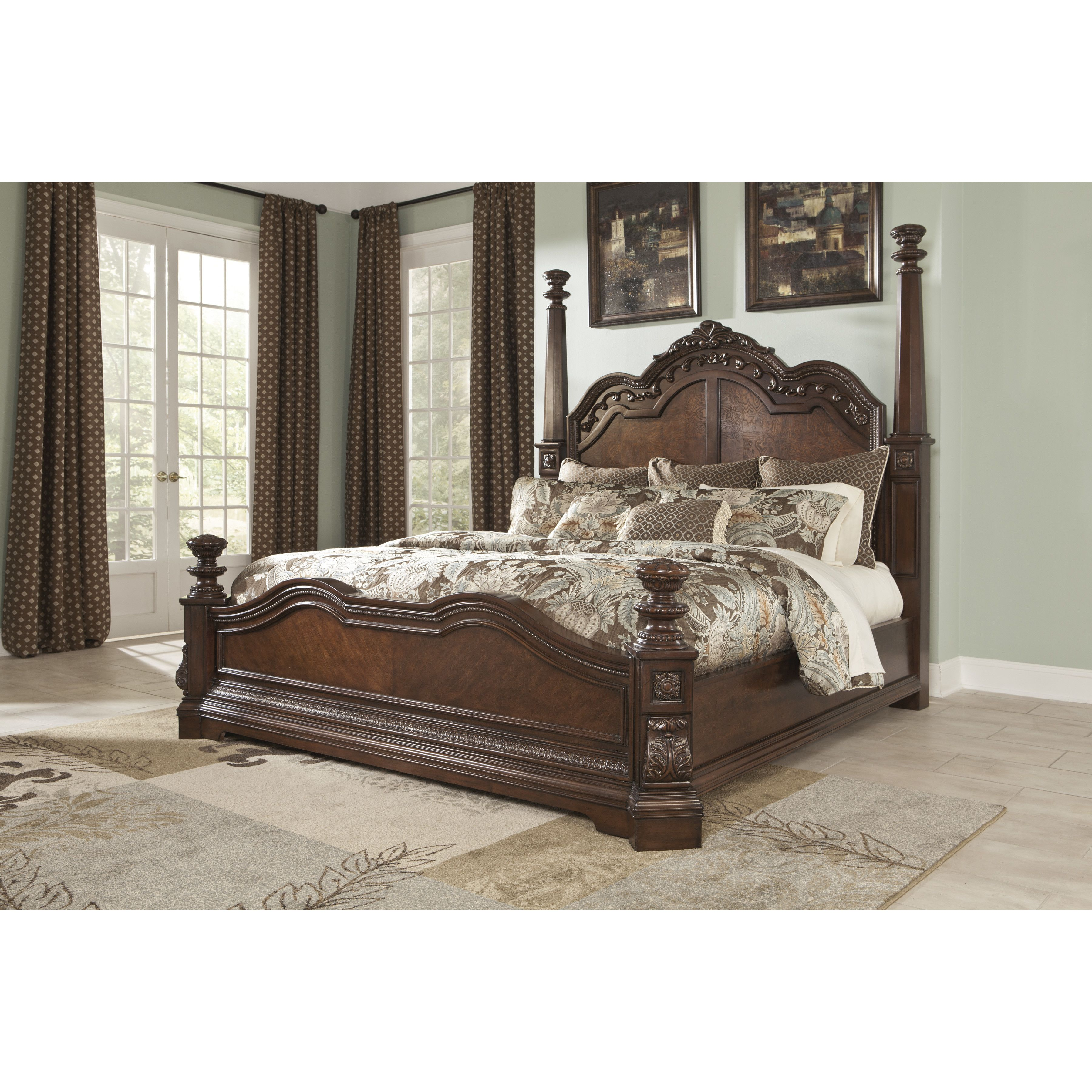 North Shore California King Panel Bed Bedroom furniture