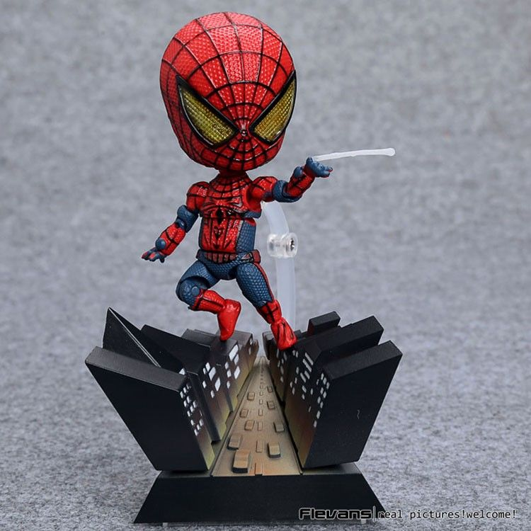 Nendoroid Spider-Man Spider Man Spiderman #260 PVC Action Figure Collection Model Toy 4 10cm