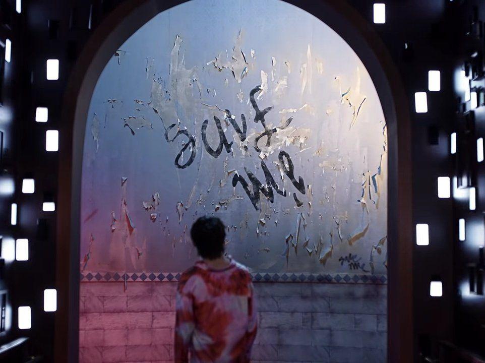 Pin By Dimitra Kazana On V Fake Love Bts Save Me Im Fine Bts fake love wallpaper laptop