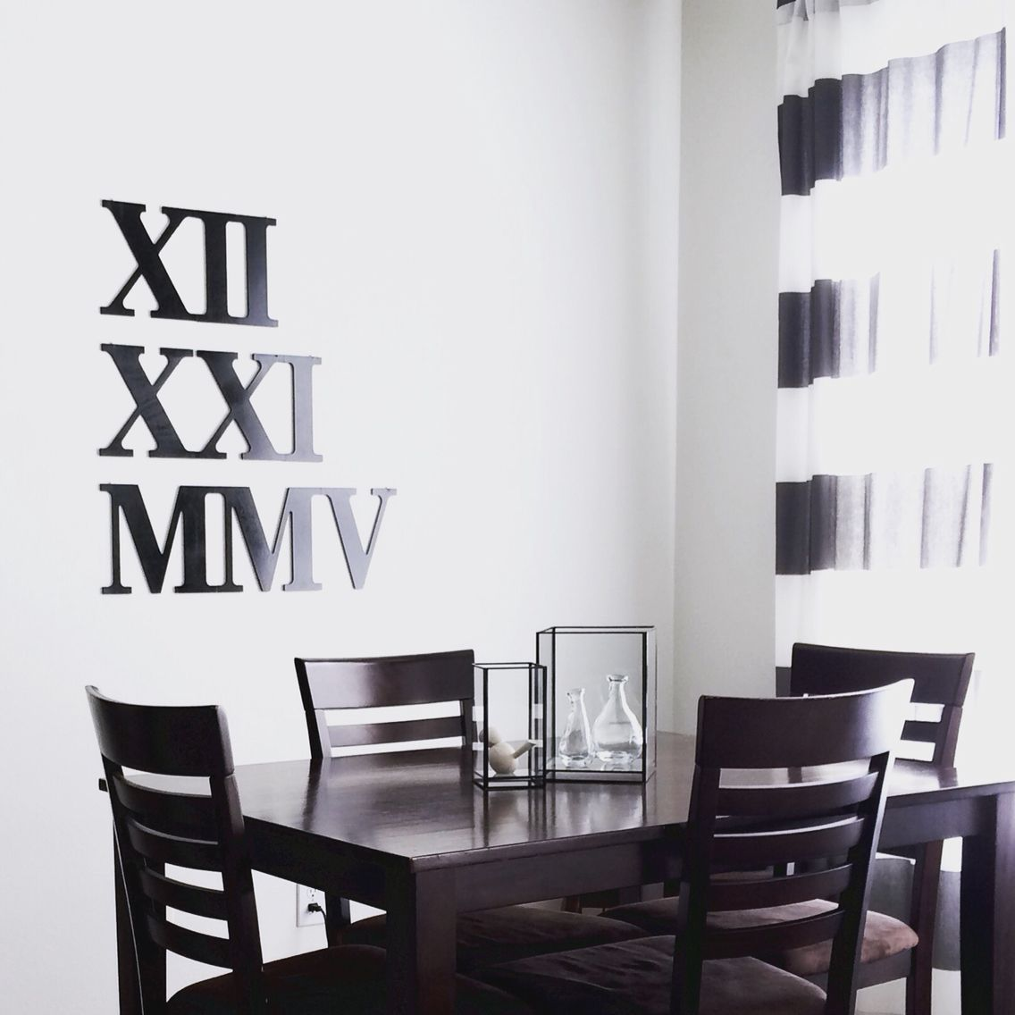 Ig Veezel  My Minimalist Nordic Inspired Dining Room With Diy Extraordinary Wall Art For A Dining Room Decorating Design