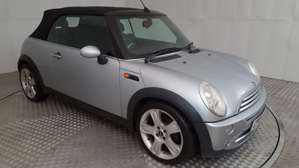 2005 Mini Cooper Silver 1 6 Petrol 5 Speed Manual Convertible 2005 Mini Cooper Mini Cooper Petrol