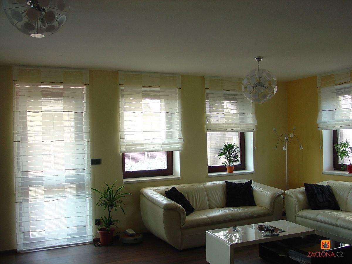 Fantastisch Moderne Wohnzimmer Gardinen Fur Kleine Fenster