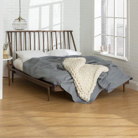 Home Spindle Bed Minimalist Bed Bed Frame