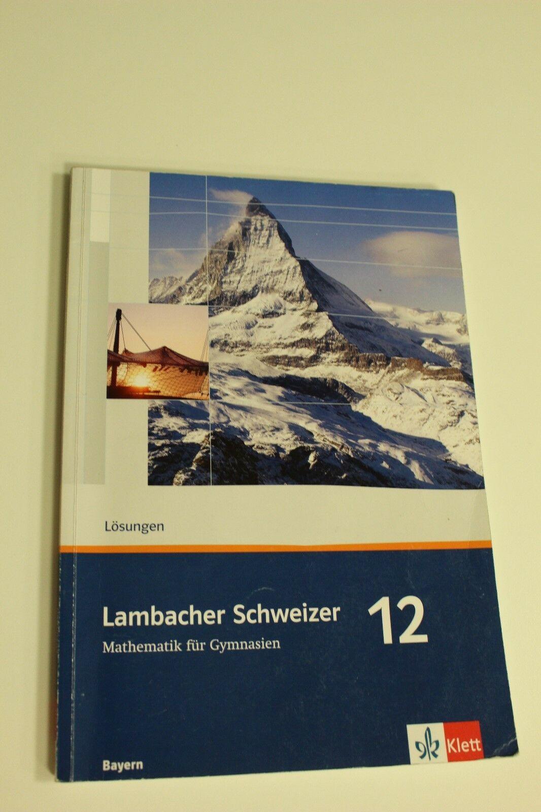 Lambacher schweizer mathe 12 lösungen