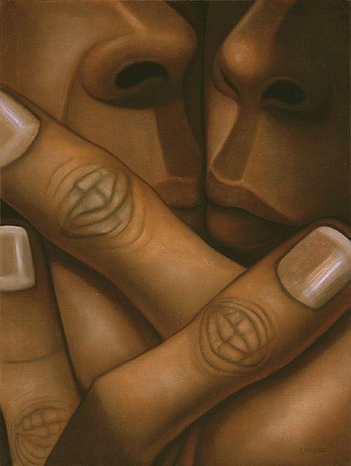 ymutate:Monique Passicot:  Mirror, Oil on Linen, 2005,...