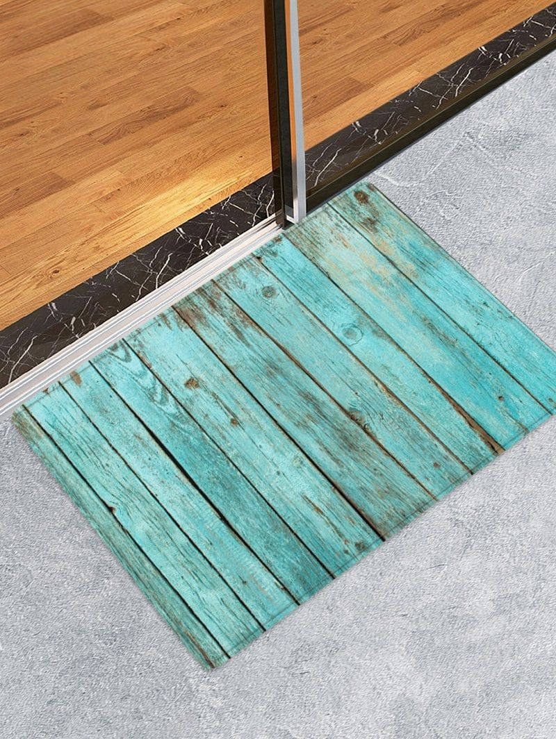 Sea Beach Flannel Kitchen Bath Bathroom Shower Floor Door Mat Rug Anti-Slip