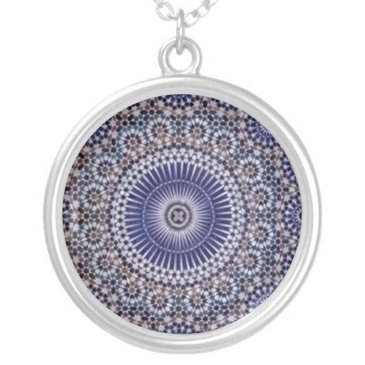 SOLD to Australia! thank you! 11 Nov 2012   Moroccan Blue Tile Pattern Custom Jewelry