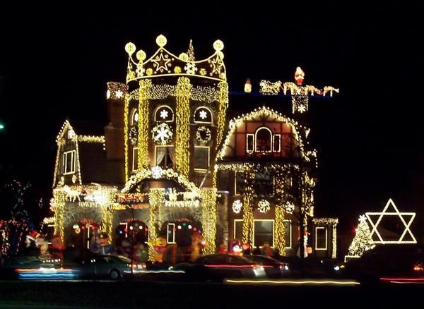 Best xmas decorated houses