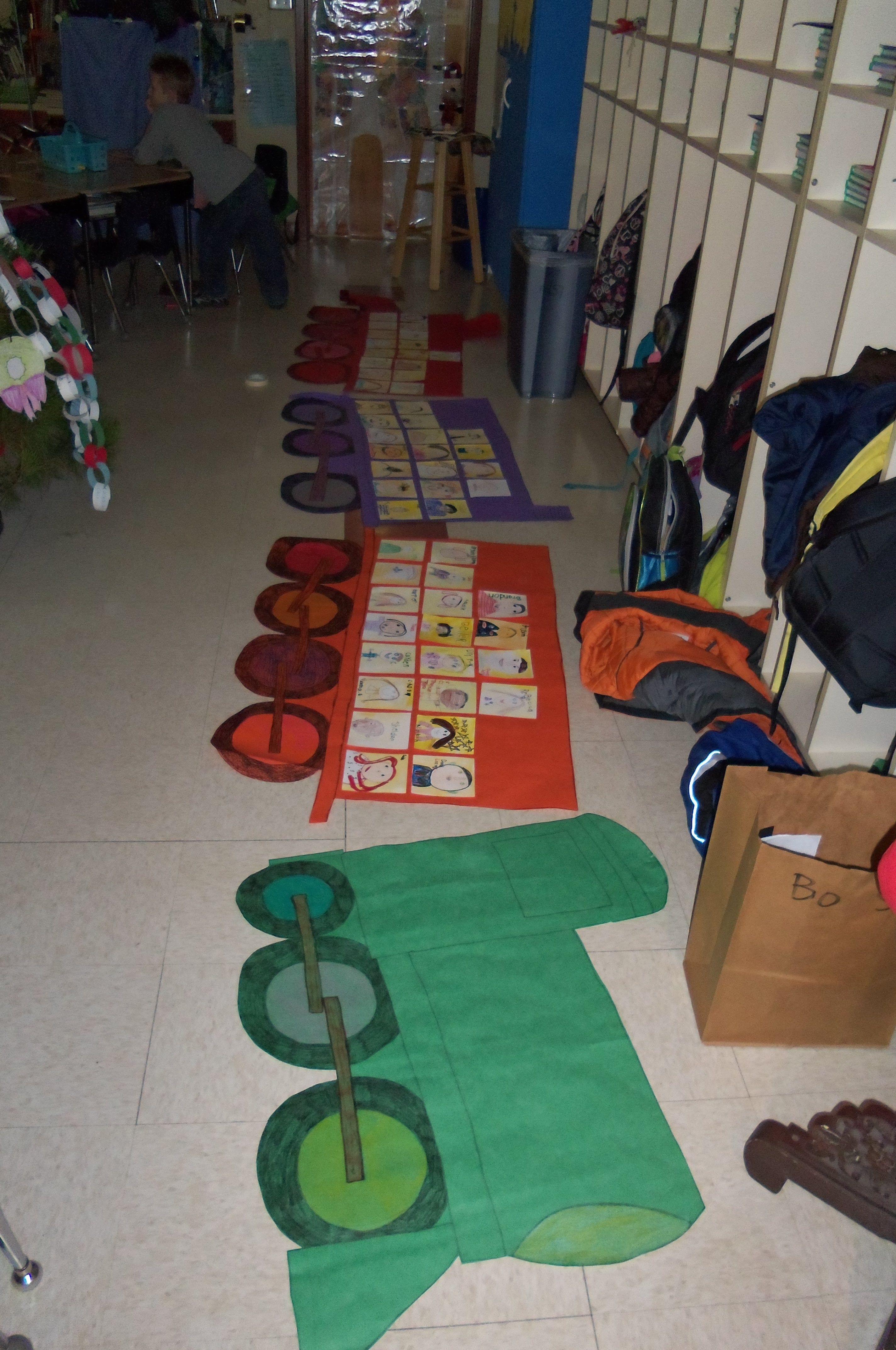 Our First Grade Polar Express Train Each Child Designed A