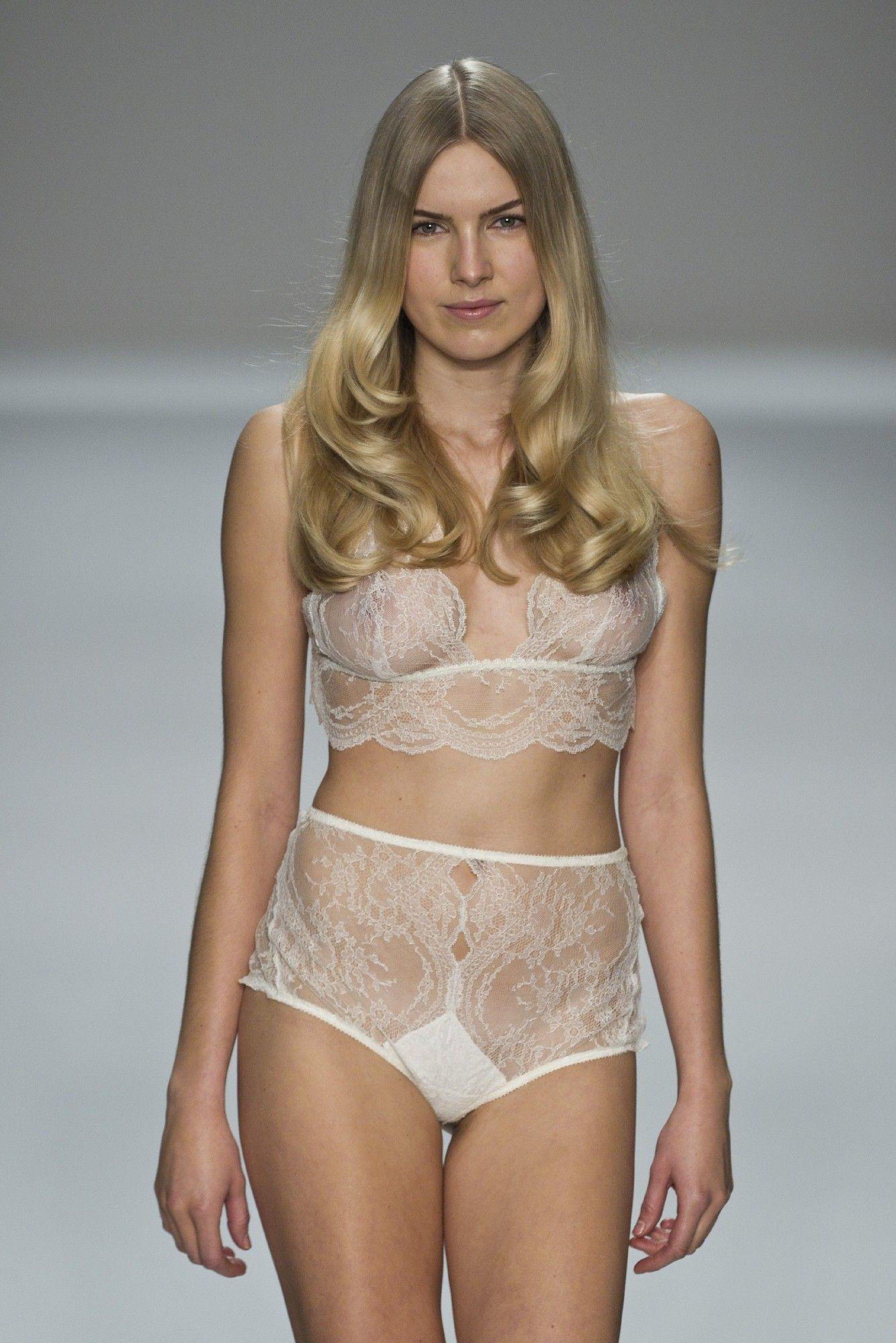 58dbce5bf White sheer lingerie