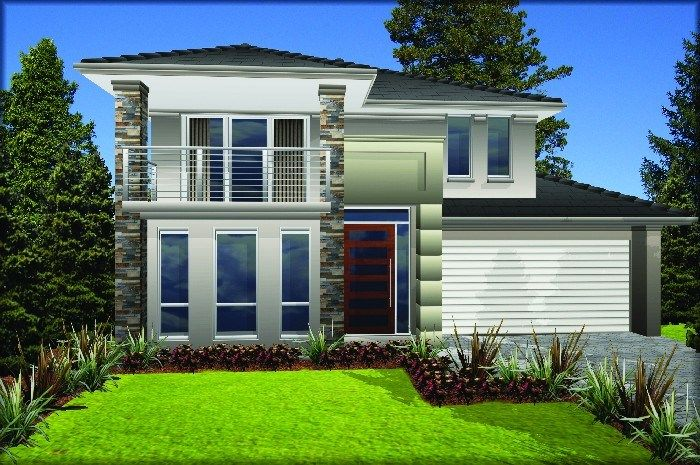 Masterton Home Designs: Villina   Contemporary RHS Facade. Visit  Www.localbuilders.com