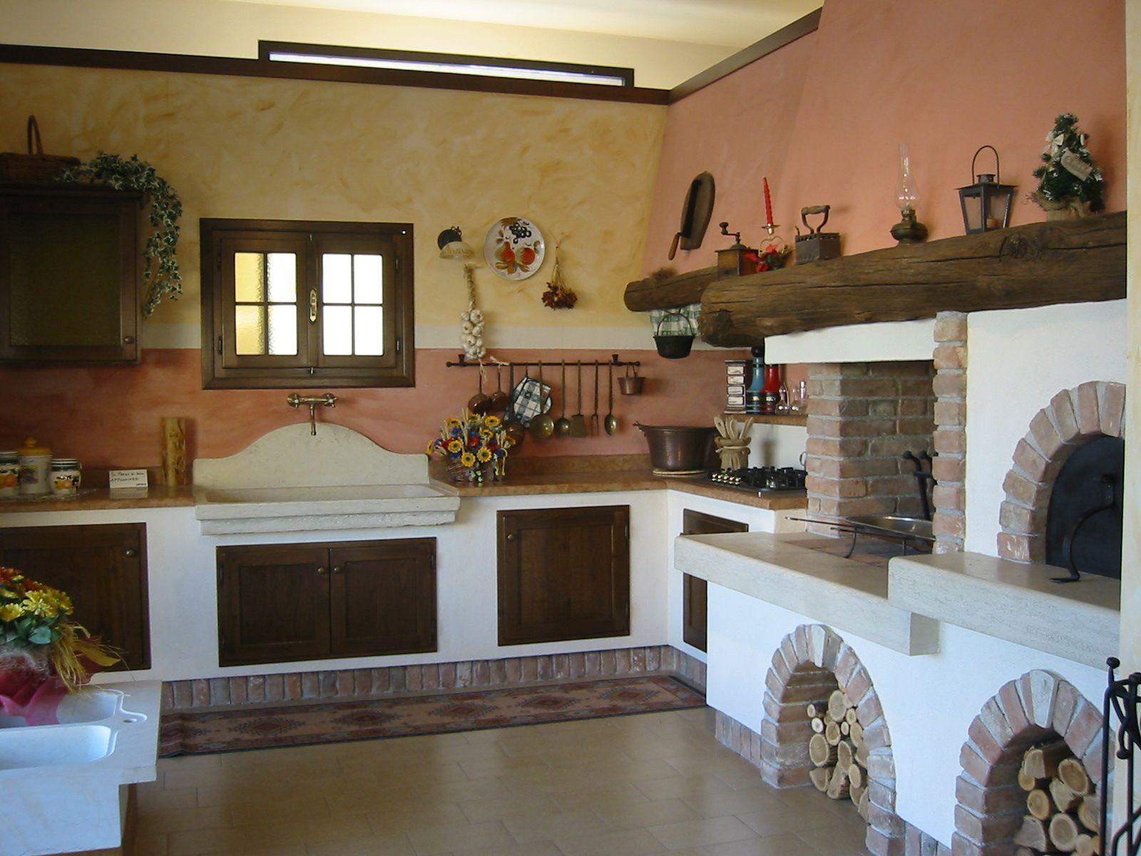 Cucine da sogno rustiche cerca con google casa dolce - Tende casa rustica ...