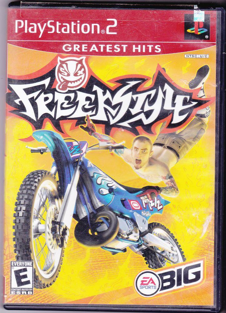 Freekstyle EA Big Racing PS2 Playstation 2 Free Shipping