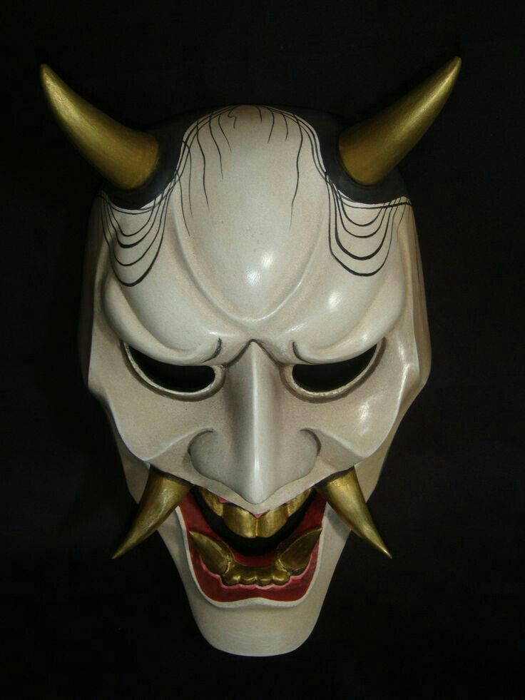 pingl par coolnut sur masks en 2018 pinterest masque japonais masque et samoura. Black Bedroom Furniture Sets. Home Design Ideas