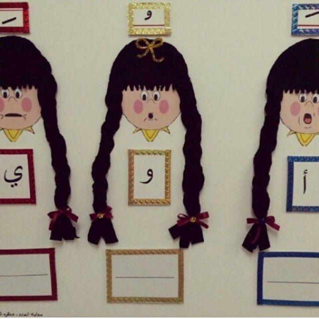 وسائل تعليميه بسعر رمزي On Instagram اسويلك وسيلة حروف المد بسعر رمزي Teach Arabic Learning Arabic Art Classroom