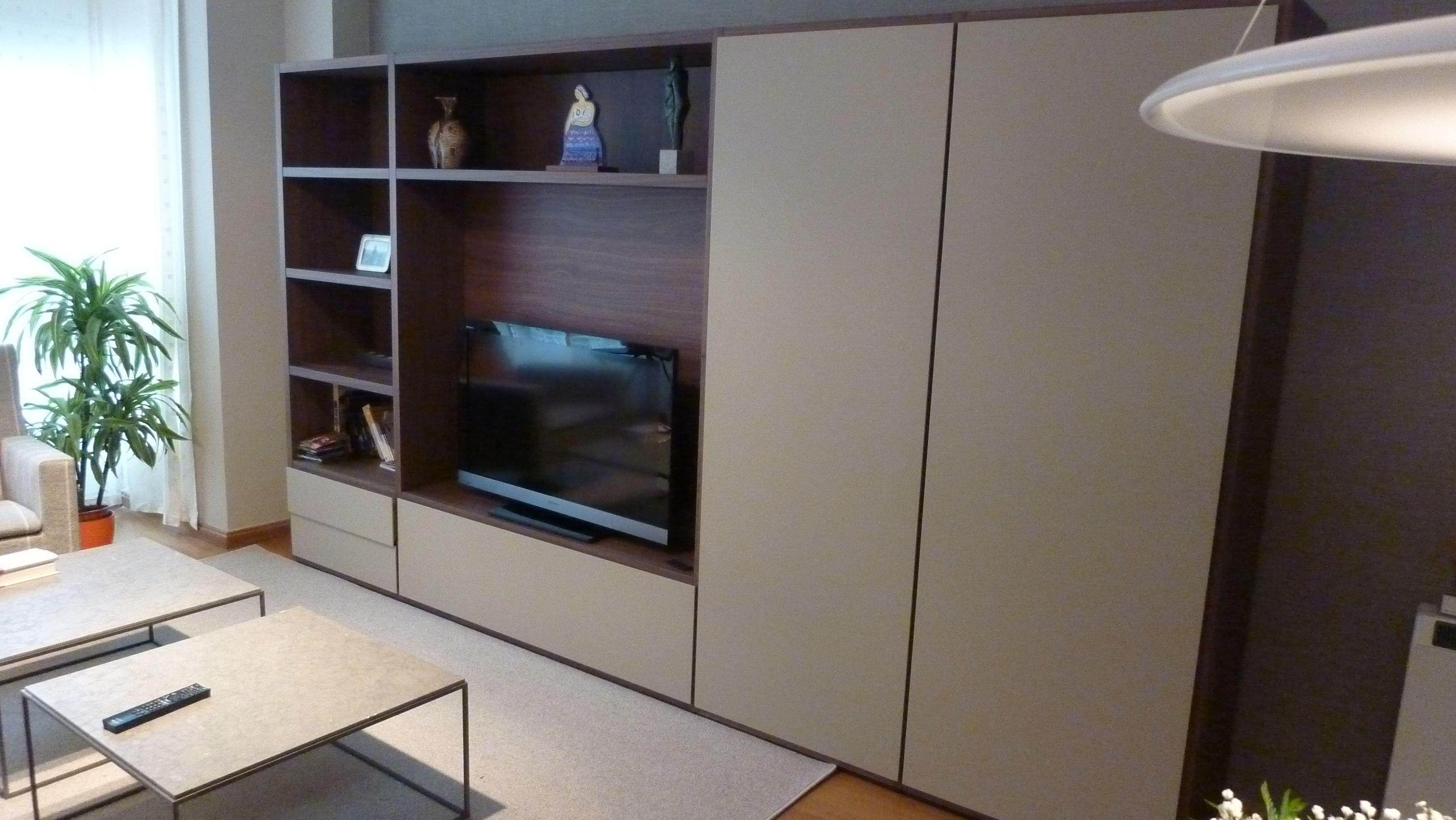 LIVING - WALL SYSTEM POLIFORM A CORUÑA | Contemporary living room ...