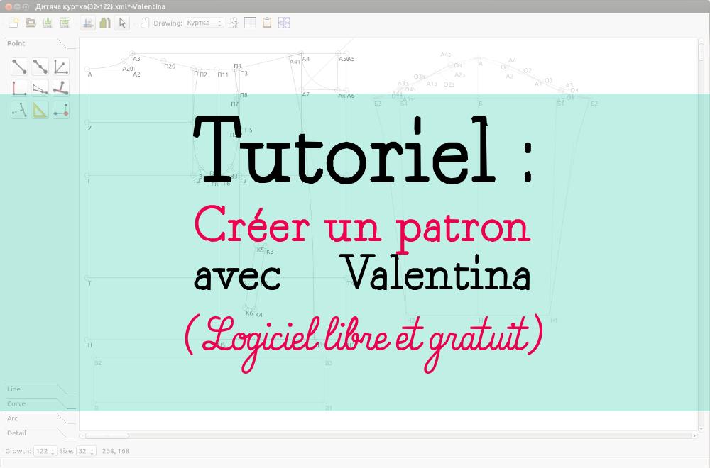 Bien-aimé Tutoriel : Comment créer un patron avec Valentina, logiciel de  IU07