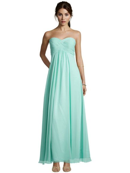 Laona Abendkleid mit Raffungen am Oberteil - Mint