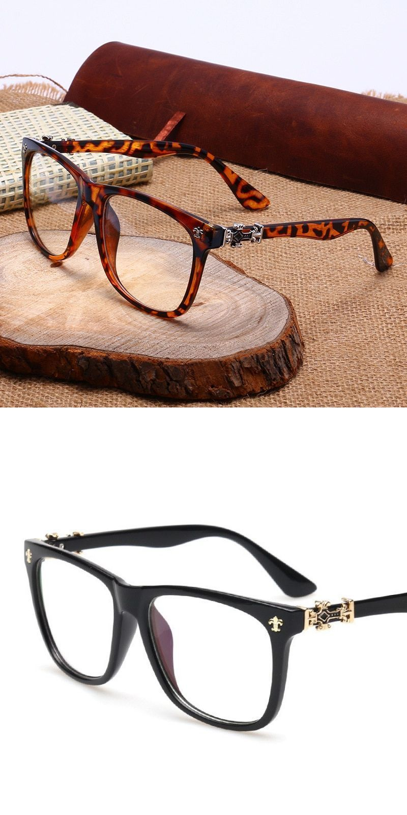 29c098e03ed5 Vintage eyeglass frames women men designer eyewear frame optical eye  glasses frame can match photochromic lenses