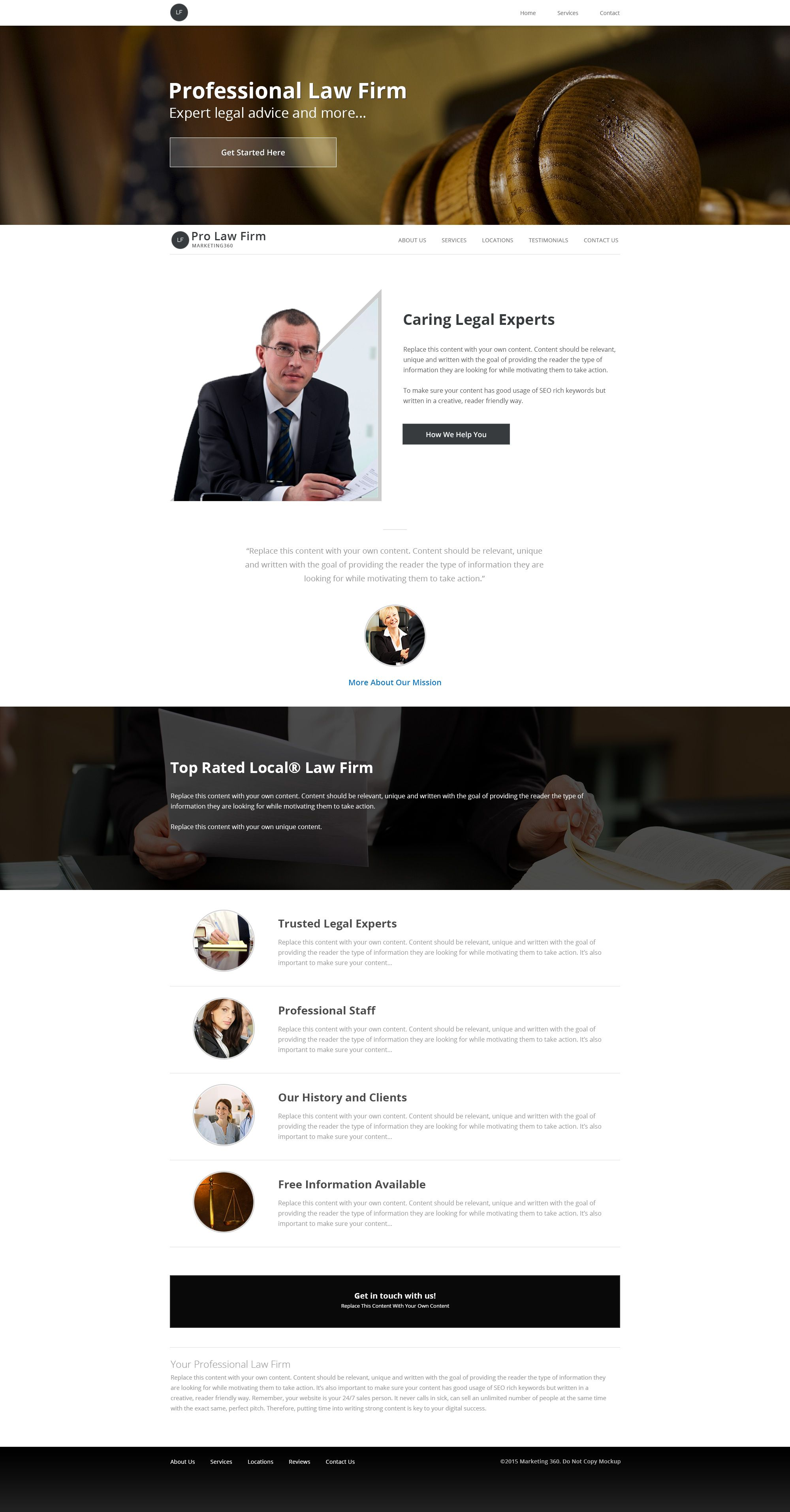 UXi Law Firm Website Templates Are Designed Specifically For - Lead generation website template