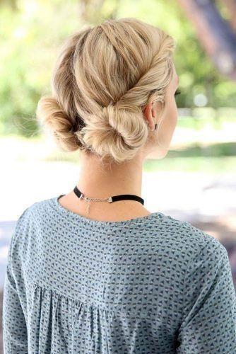 20 wunderschöne Prom Frisur Designs für kurze Haare: Prom Frisuren 2019