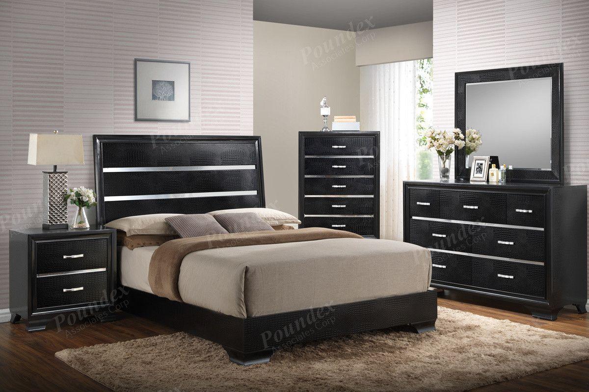 Poundex pcs eastern king bedroom set fek king bedroom and