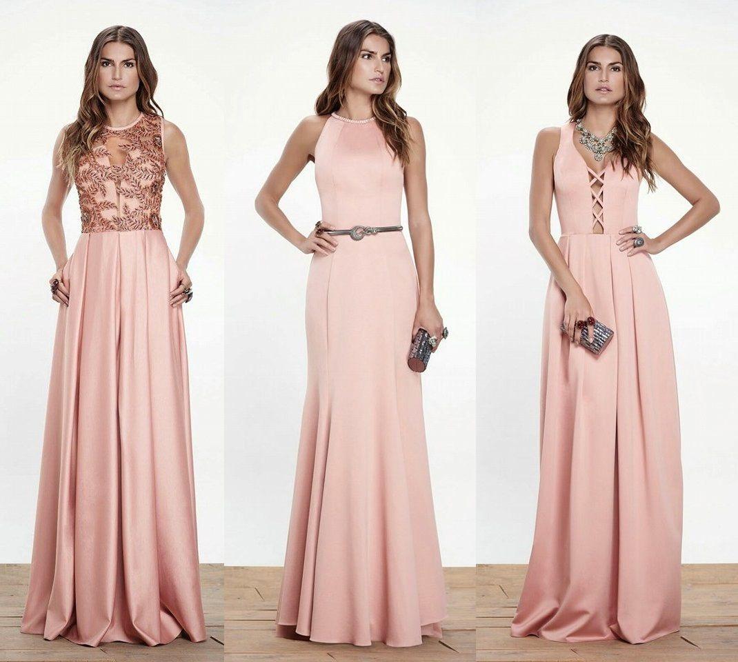 Vestidos para madrinhas! | Vestiditos, Vestido rosado y Comprar