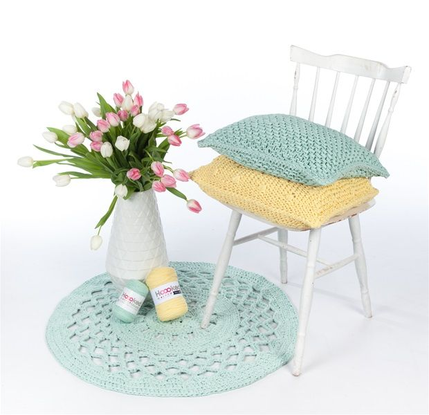 diy anleitung runde teppich h keln ribbonxl hoooked sch nes pinterest runde teppiche. Black Bedroom Furniture Sets. Home Design Ideas