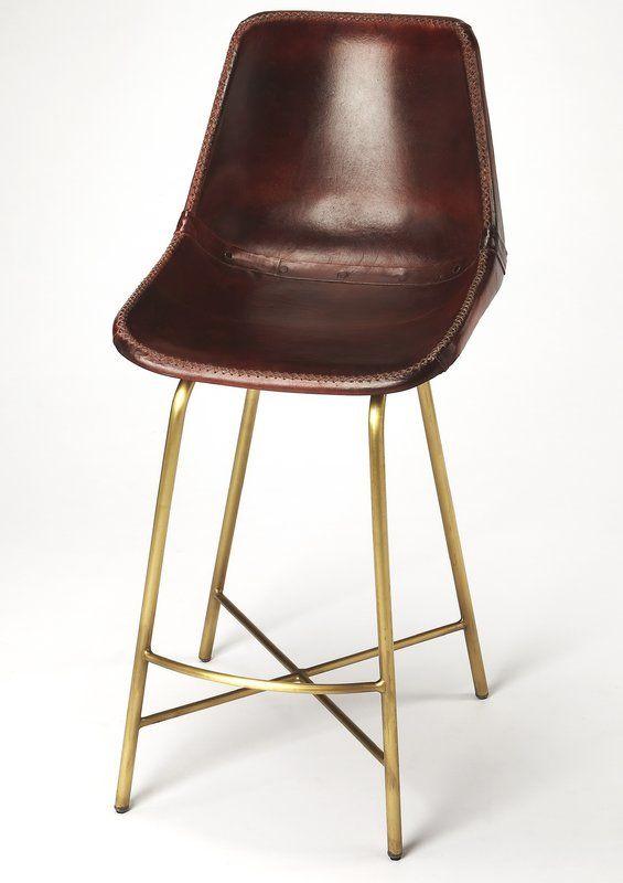 Marvelous Danny 17 5 Bar Stool Cateshouse Leather Bar Stools Creativecarmelina Interior Chair Design Creativecarmelinacom